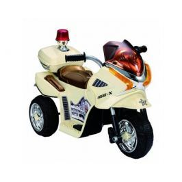 Электромобиль OCIE «Мотоцикл» с аккумулятором кремовый