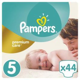 Подгузники Pampers Premium Care 5 (11-18 кг) 44 шт.