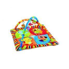 Игровой коврик Умка квадратный с мягкими игрушками на подвеске