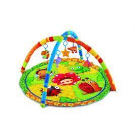 Развивающий коврик Умка круглый с мягкими игрушками на подвеске