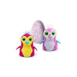 Интерактивная игрушка Hatchimals «Пингвинчик» вылупляющийся из яйца розовый