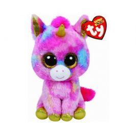 Мягкая игрушка TY Beanie Boo's «Единорог Fantasia» 15 см