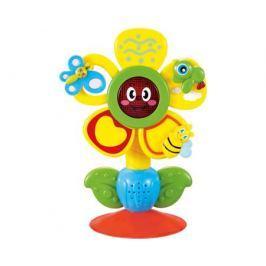 Развивающая игрушка Happy baby «Fun Flower» музыкальная на присоске