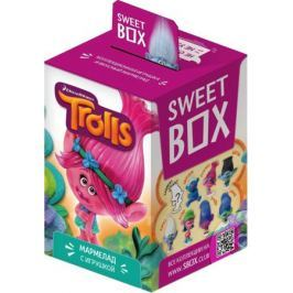 Мармелад с игрушкой Sweet Box «Тролли» 10 г в ассортименте