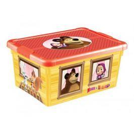 Ящик для игрушек Пластишка «Маша и Медведь», универсальный