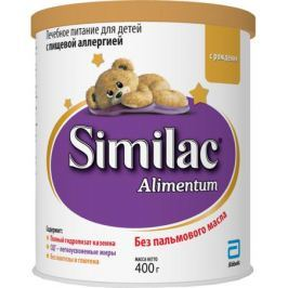 Сухая смесь Similac Alimentum с рождения 400 г
