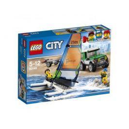Конструктор LEGO City 60149 Внедорожник с прицепом для катамарана