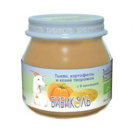 Пюре Бибиколь Тыква, картофель и козий творожок с 6 мес. 80 г