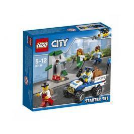 Конструктор LEGO City 60136 Набор для начинающих Полиция