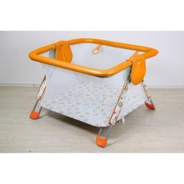 Манеж Фея Книжка «Совы» 104х102х73 см оранжевый