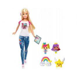 Кукла Barbie геймер «Barbie и виртуальный мир» 33 см