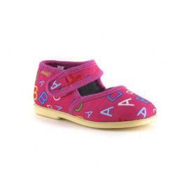 Туфли комнатные малодетские для девочки Домашки, розовые