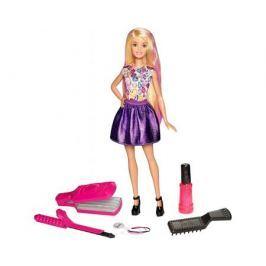 Игровой набор Barbie «Цветные локоны» 23 см