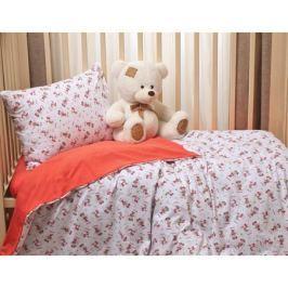 Комплект постельного белья Li-Ly «Микки» трикотаж 3 пр. красный