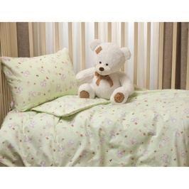 Комплект постельного белья Li-Ly фланель 3 пр. зеленый