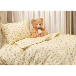 Комплект постельного белья Li-Ly фланель 3 пр. желтый
