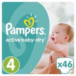 Подгузники Pampers Active Baby-Dry 4 (8-14 кг) 46 шт.