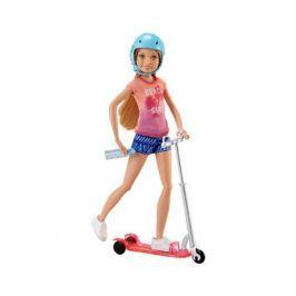 Кукла Barbie на самокате
