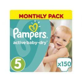 Подгузники Pampers Active Baby-Dry 5 (11-18 кг) 150 шт.