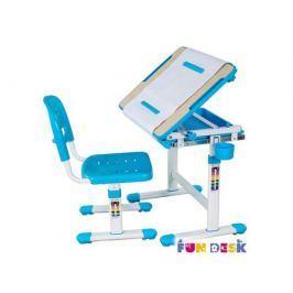 Комплект мебели FunDesk «Bambino» стол 66х47 см и стул голубой