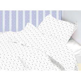 Комплект в кроватку Mirarossi «Stellina mia» 3 пр. звезды простыня на резинке
