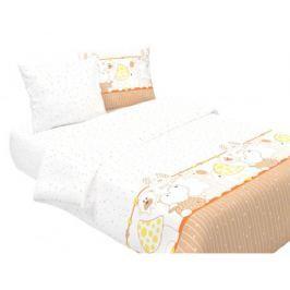 Комплект в кроватку Луняшки «Мой зоопарк» 3 пр. бежевый