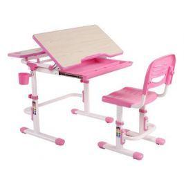 Комплект мебели FunDesk «Lavoro» розовый