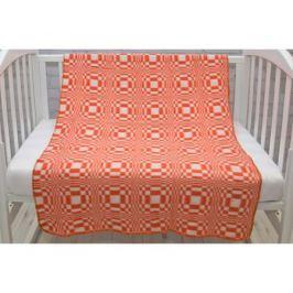 Одеяло Споки Ноки байковое «Клетка» 100х140 см, хлопок, в ассортименте