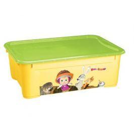 Ящик для игрушек Пластишка «Маша и Медведь» 31 л, в ассортименте