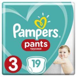 Трусики-подгузники Pampers Pants 3 (6-11 кг) 19 шт.