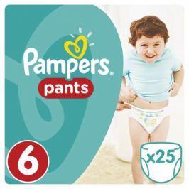 Трусики-подгузники Pampers Pants 6 (от 15 кг) 25 шт.