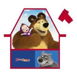 Фартук для труда Маша и Медведь «Мишка» с нарукавниками