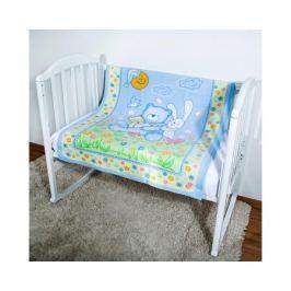 Одеяло Baby Nice «Мишка на лужайке» байковое 100х118 см, в ассортименте