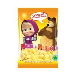 Сладкие кукурузные палочки Маша и Медведь 75 г