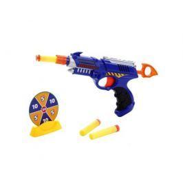 Бластер Играем вместе с мишенью и мягкими пулями