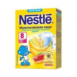 Каша молочная Nestle мультизлаковая с бананом и кусочками земляники с 8 мес. 220 г