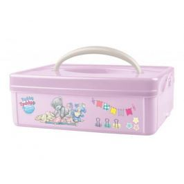 Ящик для игрушек Me to you с ручкой розовый 2 л