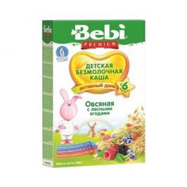 Каша безмолочная Bebi Premium «Активный день» овсяная с лесными ягодами с 6 мес. 200 г