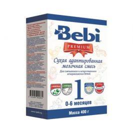 Молочная смесь Bebi Premium 1 с рождения 400 г в коробке
