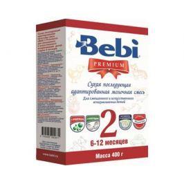 Молочная смесь Bebi Premium 2 с 6 мес. 400 г в коробке