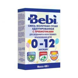 Молочная смесь Bebi с пребиотиками с рождения 400 г в коробке