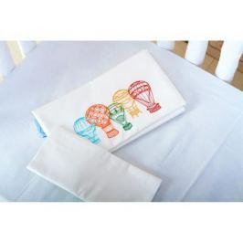 Комплект постельного белья Cloud factory 3 пр. сатин Beauty Balloons