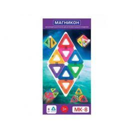 Конструктор магнитный Магникон «Треугольники» 8 дет.
