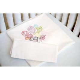 Комплект постельного белья Cloud factory 3 пр. сатин Funny Owls