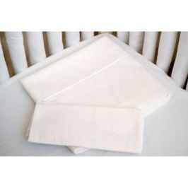 Комплект постельного белья Cloud factory 3 пр. cатин Plain White