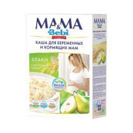 Каша молочная для беременных и кормящих мам Mama & Bebi Premium Злаки с кусочками груши 200 г