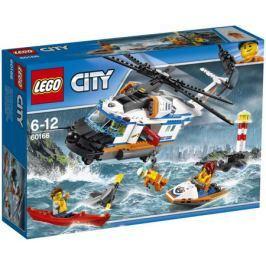 Конструктор LEGO City Coast Guard 60166 Сверхмощный спасательный вертолёт