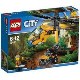 Конструктор LEGO City Jungle Explorer 60158 Грузовой вертолёт исследователей джунглей