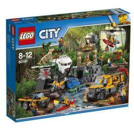 Конструктор LEGO City Jungle Explorer 60161 База исследователей джунглей