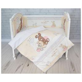 Комплект в кроватку Baby Nice «Милый дом» 6 пр.